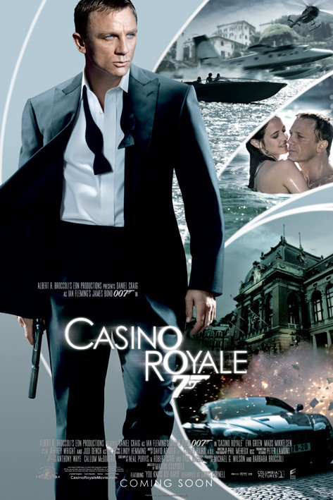 JAMES BOND 007 - casino royale iris Affiche