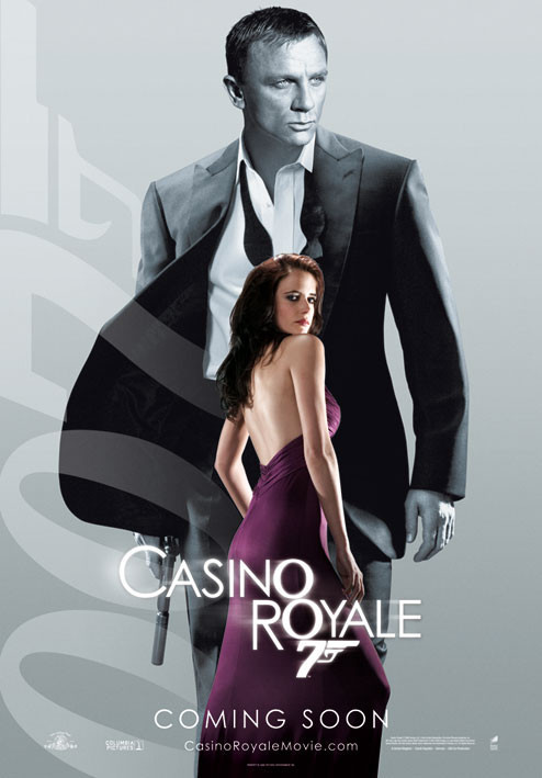 JAMES BOND 007 - casino royale vesper Affiche