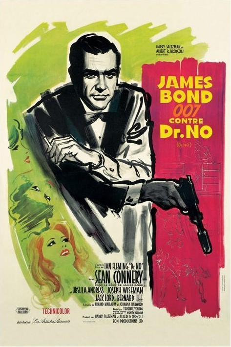 JAMES BOND 007 - dr no  Affiche