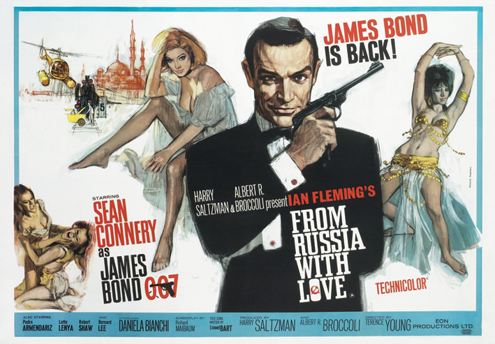 JAMES BOND 007 - from russia with love Affiche