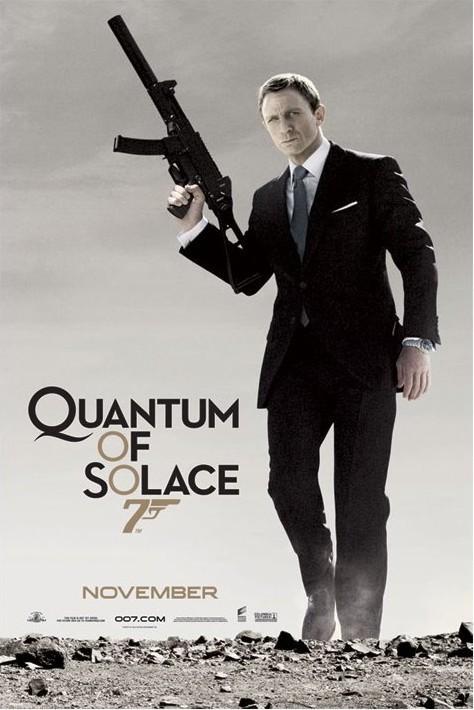 JAMES BOND 007 - quantum of solace  Affiche