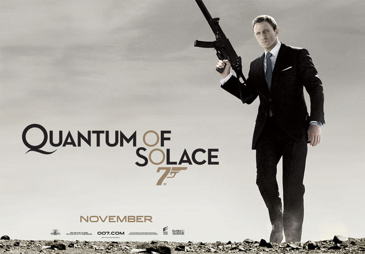 JAMES BOND 007 - quantum of solace  Affiche