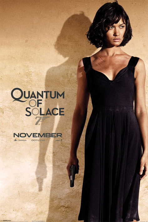 JAMES BOND 007 - quantum of solace o.kurylenko Affiche