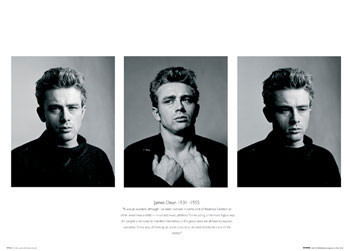 James Dean - Trio Affiche