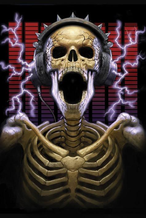 James Ryman - play it loud Poster