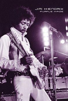 Jimi Hendrix - purple haze Affiche