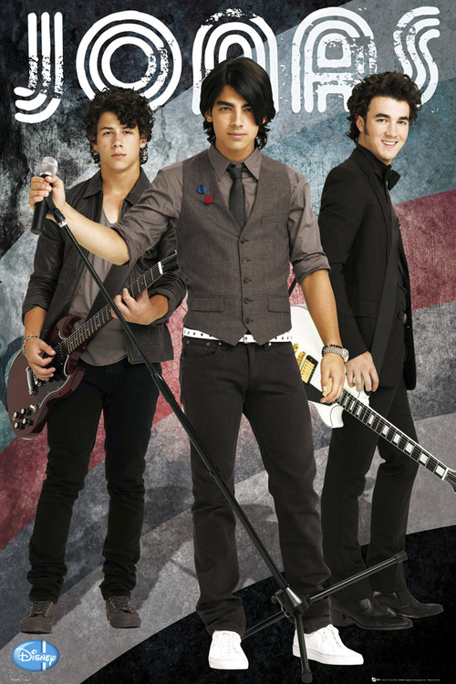 JONAS - brothers Affiche