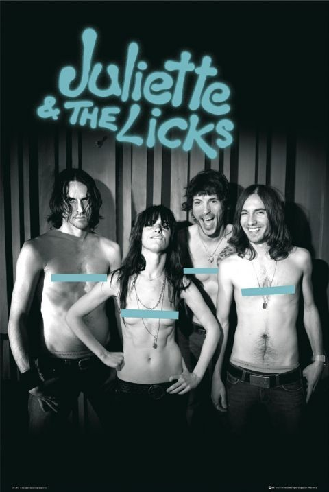 Juliette a the licks Affiche