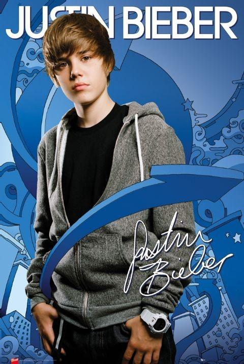 Justin Bieber - arrows Affiche