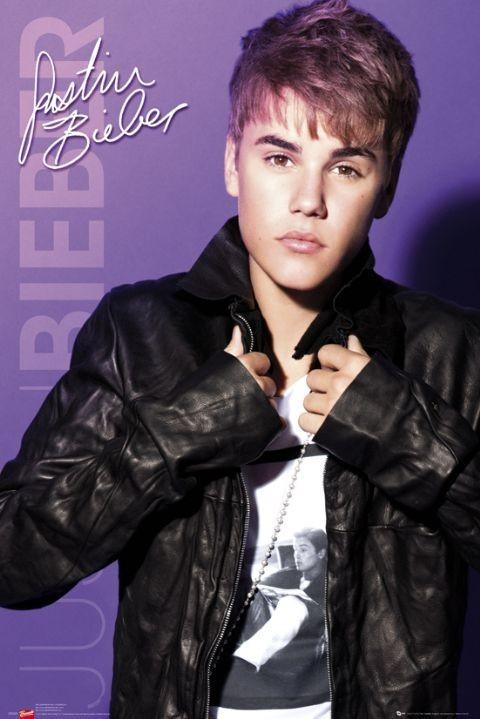 Justin Bieber - collar Affiche