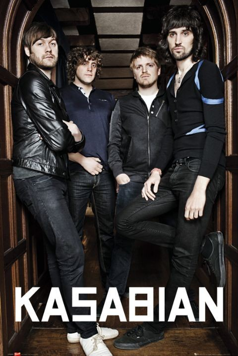 Kasabian - archway Affiche