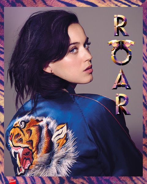 Katy Perry - roar Affiche