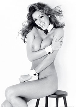 Kelly Brook – playGirl Affiche