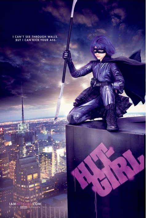 KICKASS - hit girl Affiche