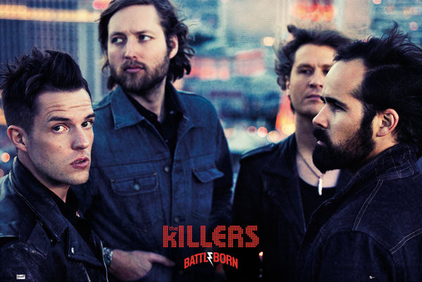 Killers - battle born Affiche