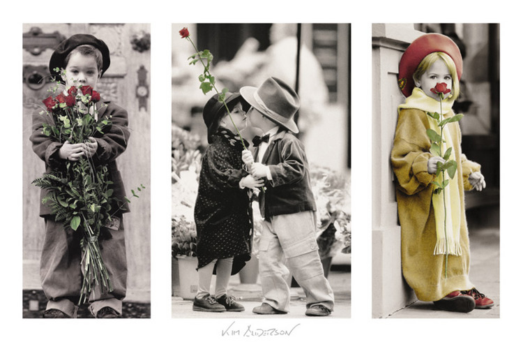 Kim Anderson - little friends Affiche