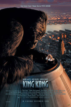 KING KONG - empire one sheet Affiche