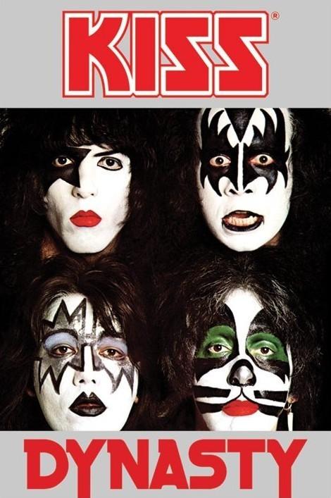 Kiss - dynasty Affiche