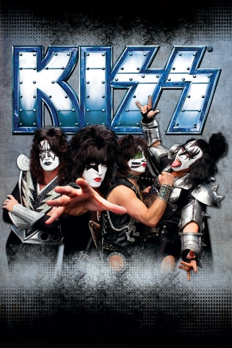 Kiss - monster Affiche