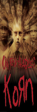 Korn- untouchables Affiche