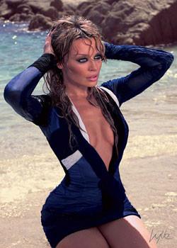 Kylie - beach Affiche