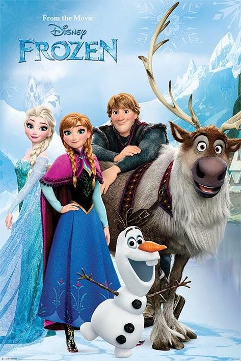 La Reine des neiges - Lakeside Affiche