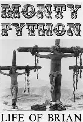 LA VIE DE BRIAN - monty python Affiche