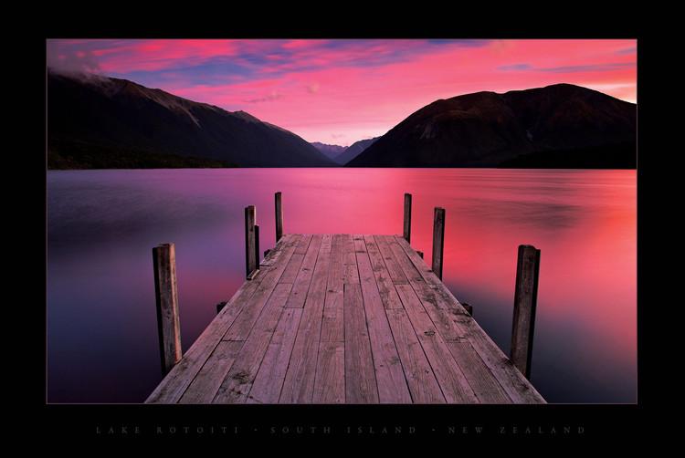 Lake Rotoiti - New Zealand Affiche