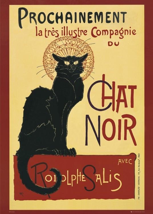 Le Chat noir – steinlein Affiche