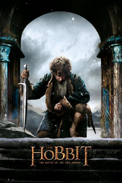 Le Hobbit 3: La Bataille des Cinq Armées - Bilbo Affiche