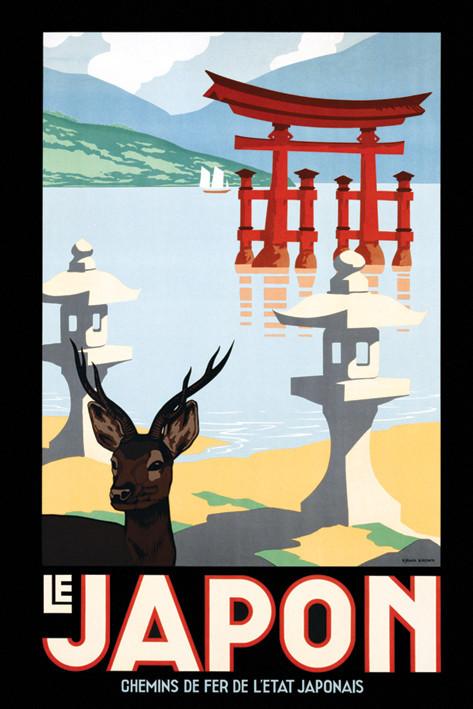 Le japon Affiche