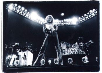 Led Zeppelin - duotone Affiche