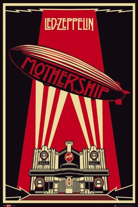 Led Zeppelin - mothership Poster