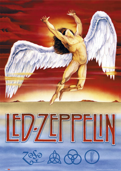 Led Zeppelin - Swan Song Affiche