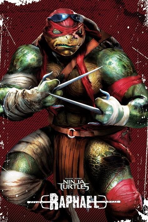 Les tortues ninja raphael poster affiche acheter le - Tortue ninja raphael ...