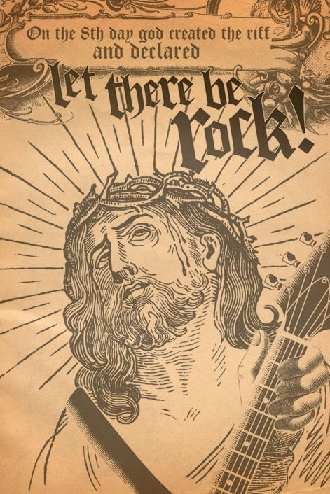 Let there be rock Affiche