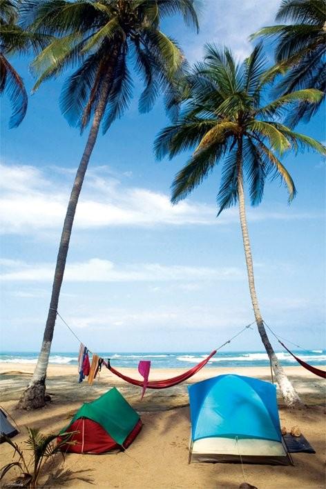 Life's a beach Affiche