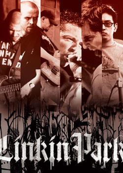 Linkin Park - strips Affiche