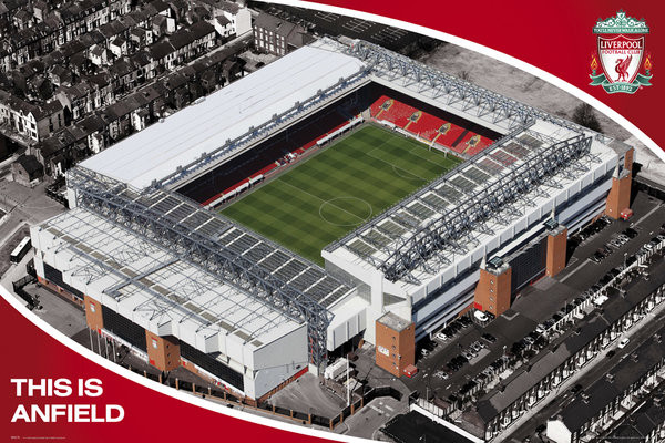 Liverpool - anfield Affiche