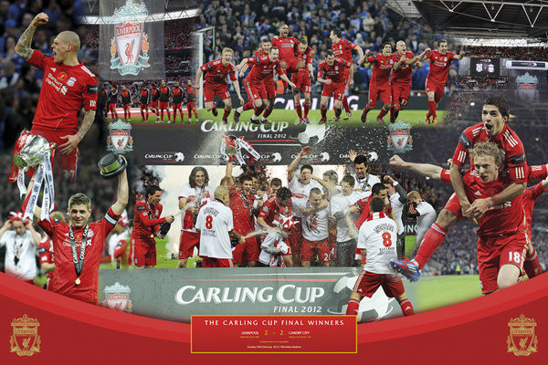 Liverpool - cup winners Affiche