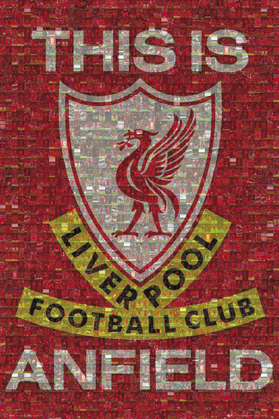 Liverpool - mosaic Affiche