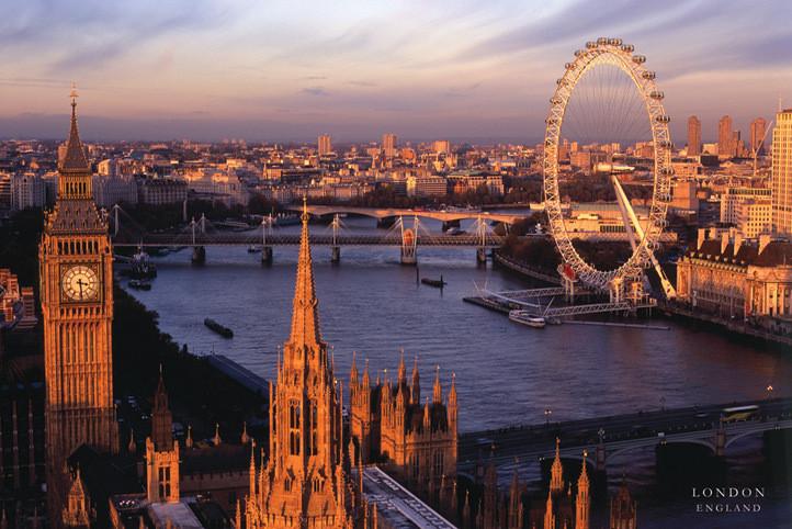 Londres - England Affiche