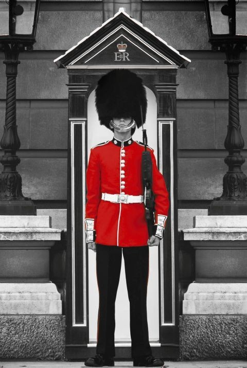 Londres - royal guard Affiche
