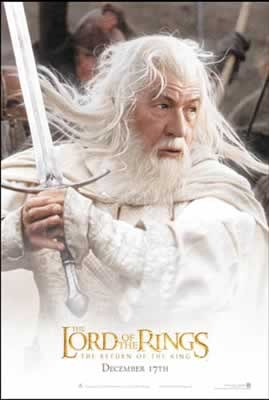 LORD OF THE RINGS - gandalf 2 Affiche