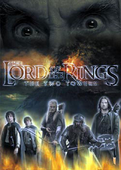 Lord of the Rings - Saruman eyes Affiche