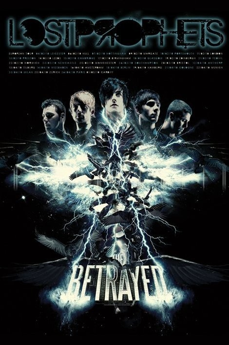 Lostprophets - the betrayed Affiche
