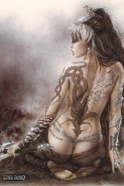 Luis Royo - subversive beauty Affiche