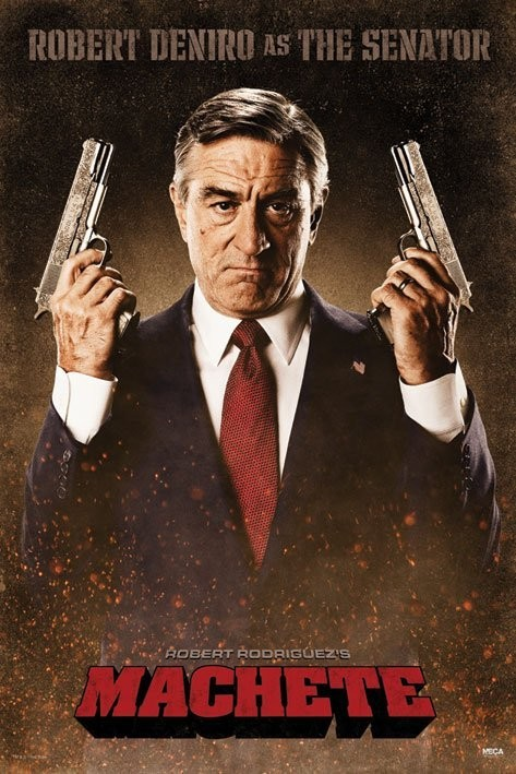 MACHETE - the senator Affiche