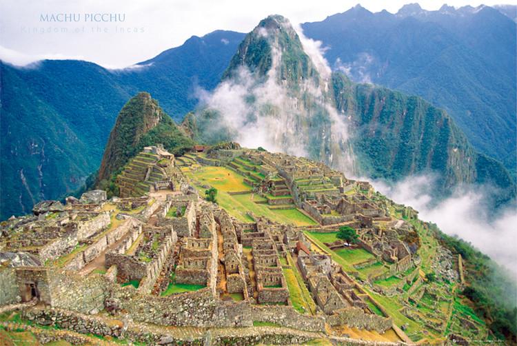 Machu Picchu Affiche