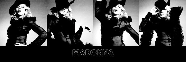 Madonna - give it to me Affiche